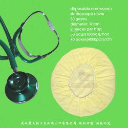 Jetables Non-Woven/non-tissé en polypropylène/nontissé stéthoscope Cache-poussière, un stéthoscope le capuchon antipoussière