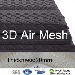 Entretoise de 3D de tissu à mailles de différentes épaisseurs de vêtements chaussures sacs de matelas