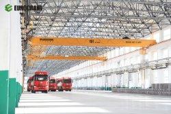 Customized Serviço Pesado Controlo Electricr 1-280 Ton Ponte Dupla viga lança Eot sobrecarga da grua recordações viajando tecto fundido guindaste do Gantry Crane Preço para venda