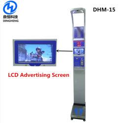 Dhm-15 Cuerpo personal electrónica Báscula IMC la altura de Análisis de equilibrio