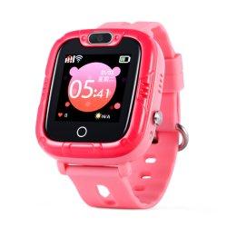 Telefono mobile di SOS GPS della vigilanza 2g di tocco dell'orologio astuto dello schermo