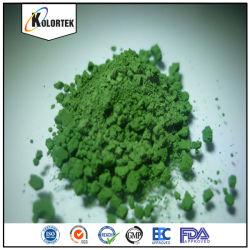 Grau de cosméticos de Óxido de Cromo Fabricante pigmento verde