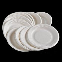 Оптовая торговля низкая MOQ дешевые белый микроволновая печь на заводе биоразлагаемых одноразовые PLA пластиковые пластины