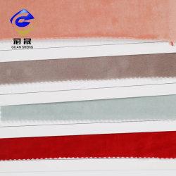 صنع في الصين سعر جيد ثعلب قماش 95 ٪ بوليستر 5%spandex Mobra Micro velour Fabric للملابس/الستائر/أريكة