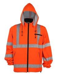 100 % polyester Veste polaire de Sécurité Orange