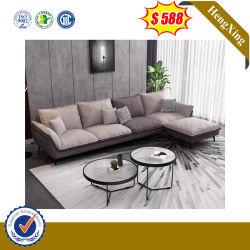 Form-helle Farben-modernes Art-Innenministerium-Couch-Wohnzimmer-Möbel-Gewebe-Leder-Sofa
