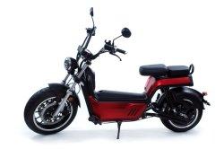 80km/h a velocidade rápida de grande potência do motor eléctrico Luqi bateria removível Motociclo com 2 lugares