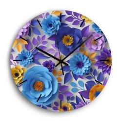 12인치 프로모션 저렴한 클래식 목재 프린팅 커버 월 시계