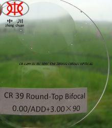 Rund-Oberseite optisches Bifokalobjektiv