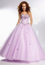 Custom Quinceanera Dress Organza Ball Gowm 16 Parte Cordão vestido de casamento vestido Eveing