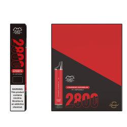 공장 직판 2800 퍼프 바 Flex 일회용 베프 펜 전자담배