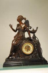 Серии часов бронзовая скульптура (HXC-027)