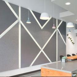 Fibra de poliéster de pared acústica Junta para la absorción acústica