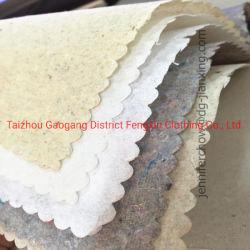 Heet China verkoopt Steunend Document Tearaway voor Borduurwerk Dress/100% Katoenen Niet-geweven Interlining Steunende Stof voor Kledingstuk