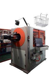 Metallspeicher-Korb-runder Draht-verbiegende Maschine CNC-3D