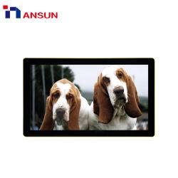 벽 통신망 3G 4G 무선 USB 정보 표시 LCD 모니터