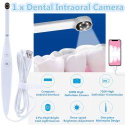 USB Oral Inspection Intraual Camera Waterlarمقاومة الماء LED Light 720p HD [إندوسكوب] أسن يبيّض عدة لطبيب الأسنان فيديو أدوات أسنانيّة