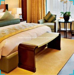 Mobilia dell'hotel del legname della quercia per la mobilia della camera di albergo di disegno moderno dell'insieme del re camera da letto