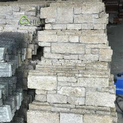 جلد النمر الكوارتز الحجر الطبيعي Claddding للجدار الخارجي، جدار الحديقة