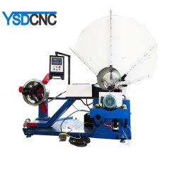 ماكينة تشكيل الأنابيب الكهربائية الحلزونية الكهربائية الأنابيب الكهربائية أنابيب الهواء المستديرة HVAC لعمل الأنبوب