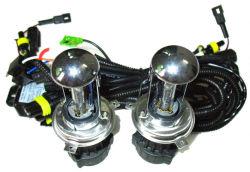 2HP 35W Alta/Baixa do Farol Bi-xénon telescópica HID de Luz do Farol do Carro de lâmpada H4 H4-3 9004-3 H13-3