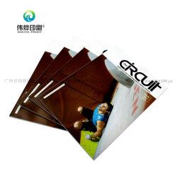 맞춤형 인쇄 Perfect Binding 판촉 책자 카탈로그 Leaflet 브로셔 잡지