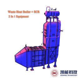 Hrsg vertical do gerador de vapor de recuperação de calor com equipamento SCR 2 em 1 Unidades Integradas