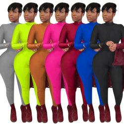 Tie Dye Ruched Biker Rompers Casual pantalones cortos de manga larga mujer entrenar Active Wear Skinny Playsuit Bodycon Moda 2020