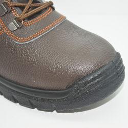 Moda barata a convergência de aço Calçado de segurança de alta qualidade em preto botas de borracha Anti-Static Wear-Resistant Respiráveis Calçado de segurança para homens e mulheres