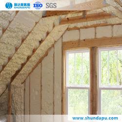 Convention de mélange de mousse rigide polyols pour système d'isolation du mur du bâtiment