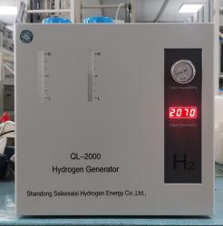 PEM-Technologie Ql-2000 hoher Reinheitsgrad-Kraftstoff-Zellen-Verbrauch-Wasserstoff-Generator