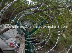 O Zoneamento de segurança de arame farpado Razor Wire Mesh