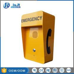 Korrosionsbeständige Highway 3G-Notrufbox, Freisprecheinrichtung für GSM-Notruftelefone