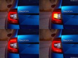 2018년에서 Skoda 새로운 Octavia를 위한 꼬리등 - (5E5945111B)