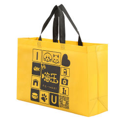 Печать логотипа магазинов не нужно возиться тканый мешок для переработки отходов