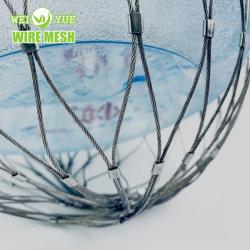 SS316 Dropsafe redes de cable / Objeto caído la prevención de accidentes de redes de seguridad