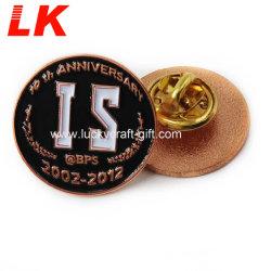 Fabrik-Preis-Zubehör-China kundenspezifisches Legierungs-stempelndes Kupferpin-Abzeichen