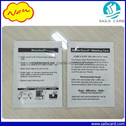 Drucker ATM-Positions-Maschinen-magnetischer Kopf-Reinigungs-Karte mit Aluminiumfolie-Beutel-Verpackung