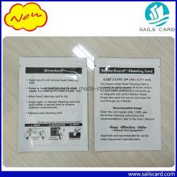Drucker ATM POS Machine Magnetic Head Cleaning Card mit Aluminiumfolienbeutelverpackung