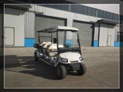 Cer genehmigte 6 Seater elektrisches das Golf-Auto mit Gepäck-Kasten