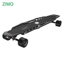 2019 Motor doble impermeable baratos off road de Skate Board eléctrico, control remoto Offroad Longboard Skateboard eléctrico todo terreno
