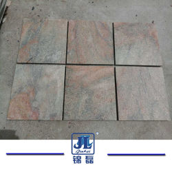 La piedra natural, arena dorada, cuarcitas Baldosas para pavimentación/Decoración exterior