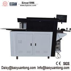 Acero inoxidable aluminio CNC de aluminio doblado de borde Carta máquina de doblado de canal para firmar los negocios