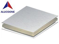 China proveedor mejor precio de 2m de ancho 15mm de espesor Plasticsheet PE/ACP Panel Compuesto de Aluminio PVDF ACP