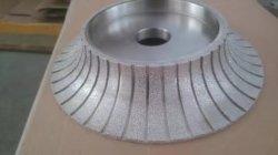 300мм вакуумный спаяны шлифовального круга для профиля точильного камня