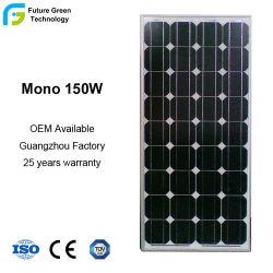Commerce de gros de 18V 150W monocristallin panneau solaire photovoltaïque
