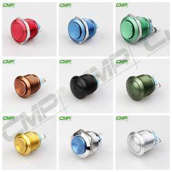 Смр различные цвета из анодированного алюминия кнопочный выключатель