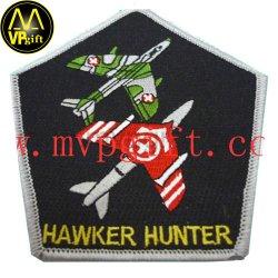 Amostra grátis Custom de tecido de algodão tecidos bordados Badge