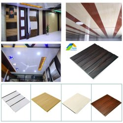 3D à prova de painel de parede de PVC de alta qualidade, decoração do painel de parede de PVC painel de tecto/Painel de Techo retirados de PVC
