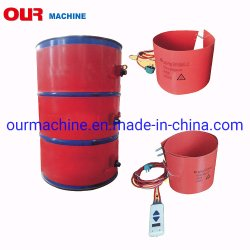 1740*250mm flexível Industrial do tambor de óleo de borracha de silicone Vela 200L